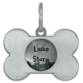 Laika Storm's Pet Name Tag
