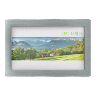 Lake Annecy Belt Buckle