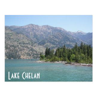 Lake Chelan Travel Postcard