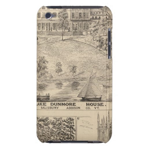 Lake Dunmore House in Salisbury iPod Touch Case