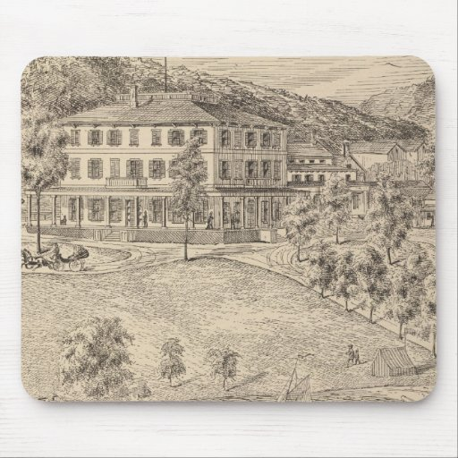 Lake Dunmore House in Salisbury Mouse Pad