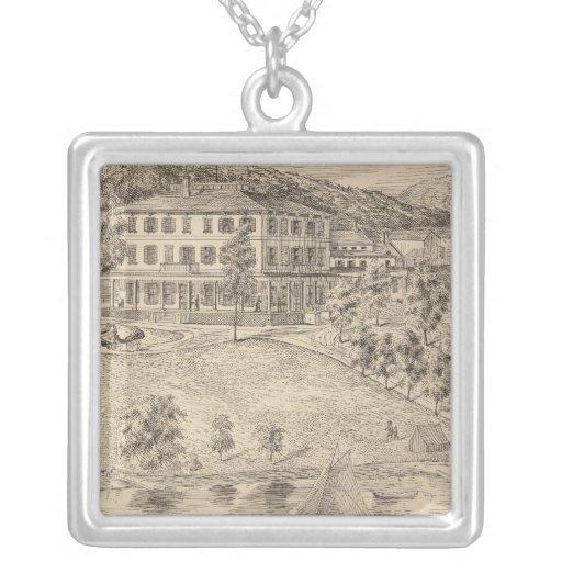 Lake Dunmore House in Salisbury Custom Necklace