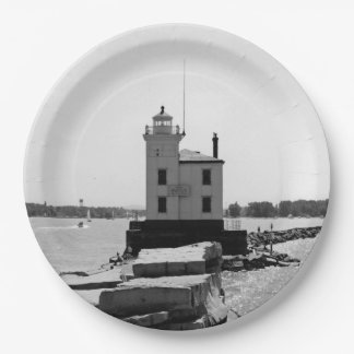 Lake Erie Lighthouse 9 Inch Paper Plate