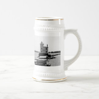 Lake Erie Lighthouse Beer Stein