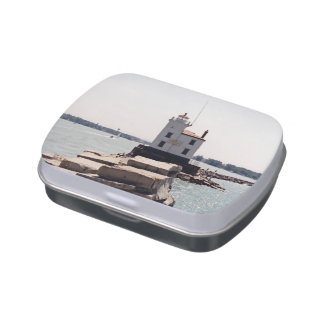 Lake Erie Lighthouse Candy Tins