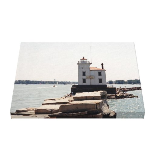Lake Erie Lighthouse Canvas Prints