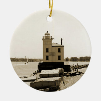 Lake Erie Lighthouse Christmas Ornament