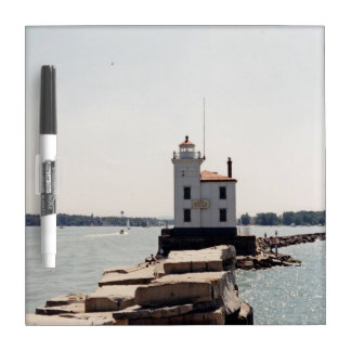 Lake Erie Lighthouse Dry Erase Board