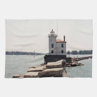 Lake Erie Lighthouse Hand Towels