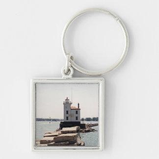 Lake Erie Lighthouse Key Ring