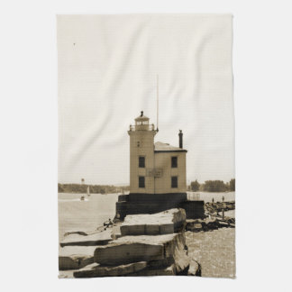 Lake Erie Lighthouse Kitchen Towel