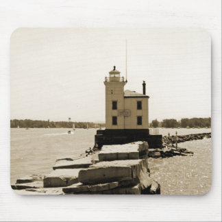 Lake Erie Lighthouse Mouse Pad