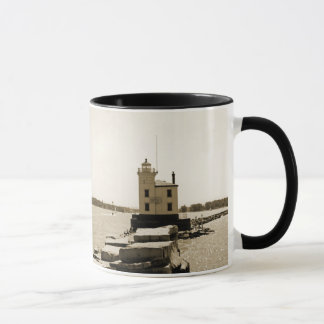Lake Erie Lighthouse Mug