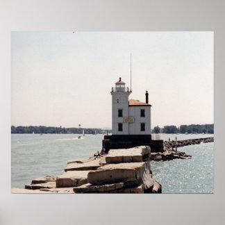 Lake Erie Lighthouse Print