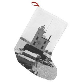 Lake Erie Lighthouse Small Christmas Stocking