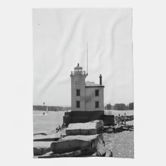 Lake Erie Lighthouse Towel
