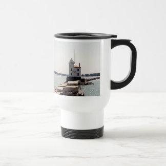 Lake Erie Lighthouse Travel Mug