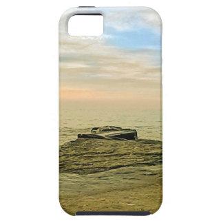 Lake Erie Summer Sunset Tough iPhone 5 Case