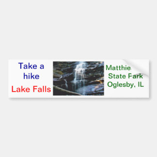 Lake Falls Bumper Sticker
