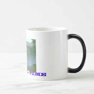 lake, Fishing time Magic Mug