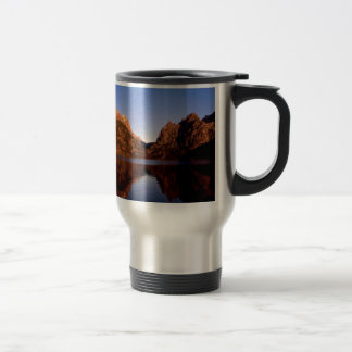 Lake Jenny Grand Teton Park Wyoming Travel Mug