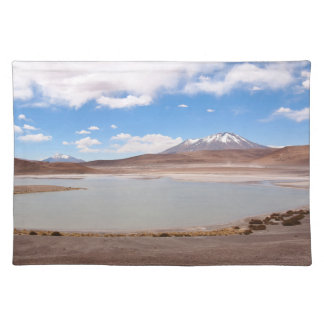 Lake landscape on the Altiplano placemat