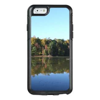 Lake Reflection of Orange Fall Leaves & Blue Skies OtterBox iPhone 6/6s Case