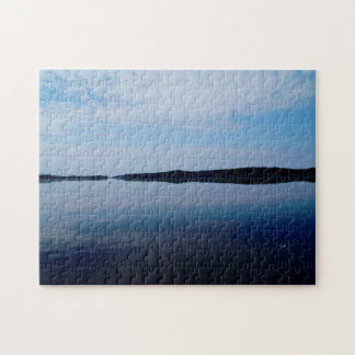 Lake Scenery, 11x14 Photo Puzzle with Gift Box