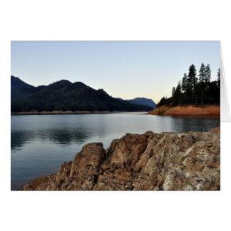 Lake Shasta Greeting Card