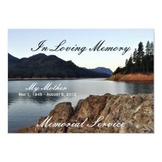 Lake Shasta 13 Cm X 18 Cm Invitation Card