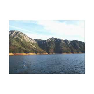 Lake Shasta Stretched Canvas Gallery Wrapped Canvas