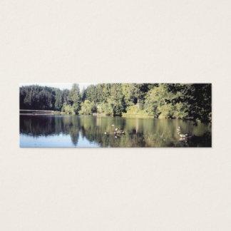 Lake Sylvia Bookmark Mini Business Card