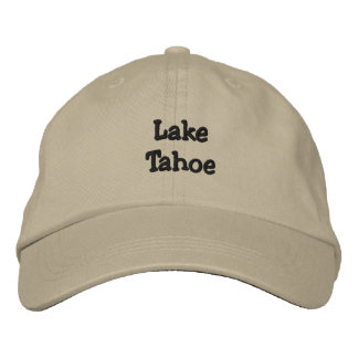 Lake Tahoe Personalized Adjustable Hat Embroidered Hats
