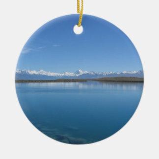 Lake Tekapo, New Zealand Christmas Ornament