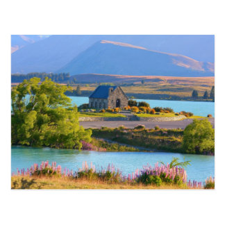 Lake Tekapo, New Zealand Postcard