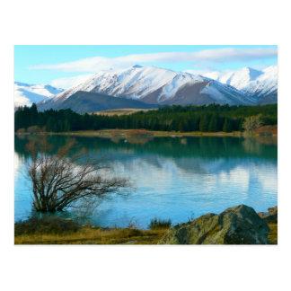 Lake Tekapo, New Zealand Postcard