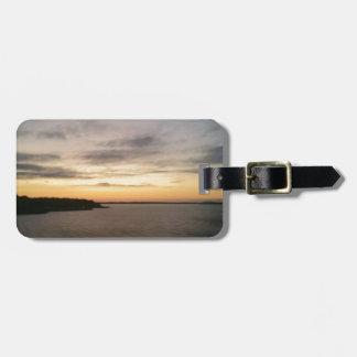 Lake Texoma Sunset Luggage Tag