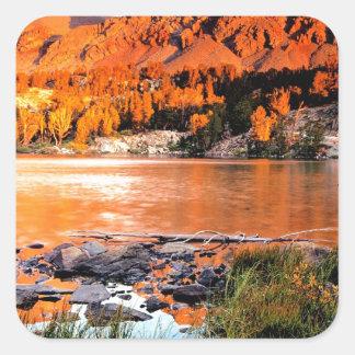 Lake Virginia Sierra Nevada Square Sticker