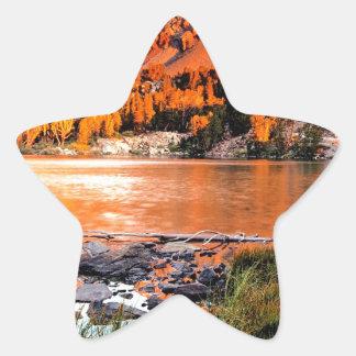 Lake Virginia Sierra Nevada Star Sticker