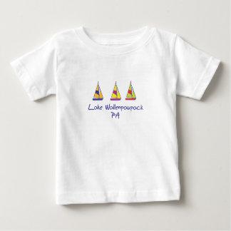 Lake Wallenpaupack Sailboats Baby T-Shirt