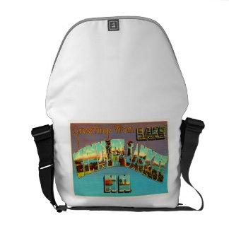 Lake Winnipesaukee New Hampshire Travel Souvenir Messenger Bag
