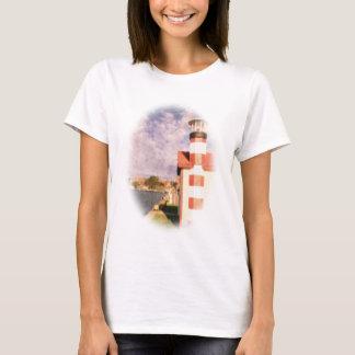 Lakeside Harbor Vignette T-Shirt