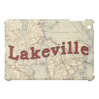 Lakeville Massachusetts Old Map Cover For The iPad Mini