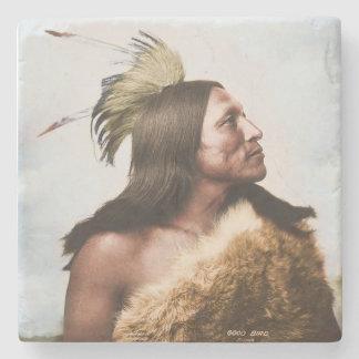 Lakota Sioux Warrior Coaster