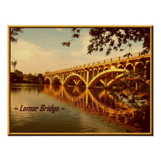 Lamar Bridge Poster