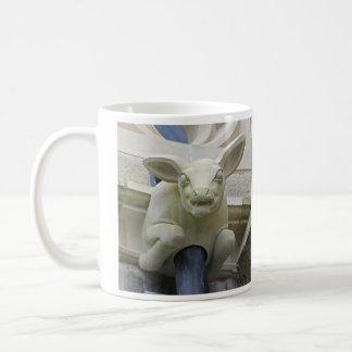 Lamb gargoyle mug