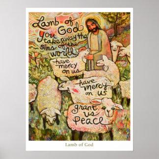 """Lamb of God 18x24"""" Poster"""