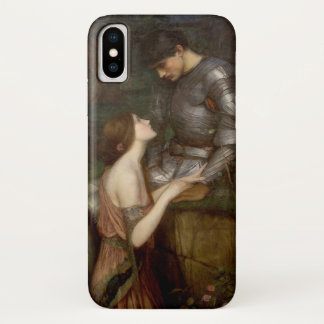 Lamia and the Soldier by JW Waterhouse iPhone X Case