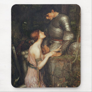 Lamia and the Soldier - John William Waterhouse Mouse Pad
