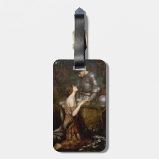 Lamia by John William Waterhouse Luggage Tag